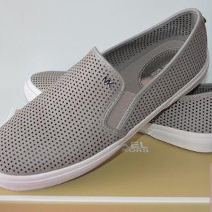 Michael Kors Gray Kyle Slip On Sneakers